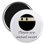 Ninjas are wicked sweet Magnet