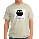 Ninjas are wicked sweet Ash Grey T-Shirt