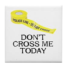 Police Line -  Tile Coaster
