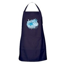 Let It Snow Apron (dark)