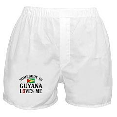 Somebody In Guyana Boxer Shorts