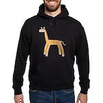 Giraffe Hoodie (dark)