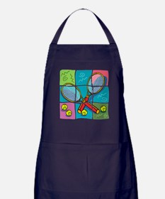 Tennis Fun Apron (dark)