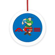 The Original Ace Ornament (Round)