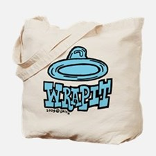 Condom Wrap It (right) Tote Bag