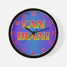 CAN IRAN! Wall Clock