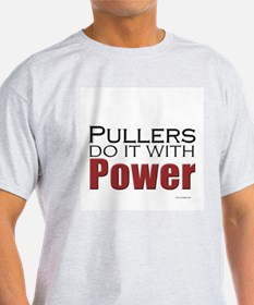 Tractor Pullers Ash Grey T-Shirt