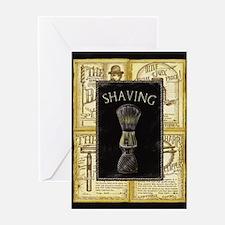 Funny Barber shop Greeting Card