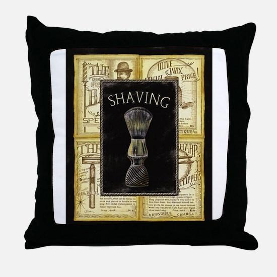 Unique Barber shop Throw Pillow