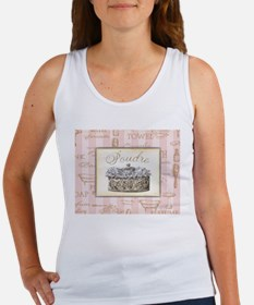 Unique Powder room Women's Tank Top