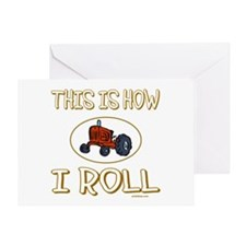 FARMER'S TRACTOR Greeting Card