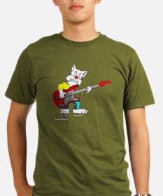 Catoons™ Bass Guitar Cat T-Shirt
