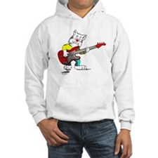 Catoons™ Bass Guitar Cat Hoodie