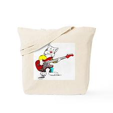 Catoons™ Bass Guitar Cat Tote Bag