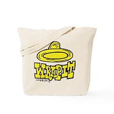 Condom Wrap It (right) Tote Bag