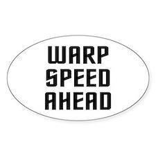 Warp Speed Decal
