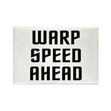 Warp Speed Rectangle Magnet