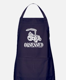 Tractor Obsessed Apron (dark)