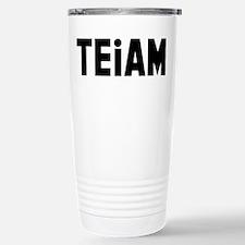 TEiAM Stainless Steel Travel Mug