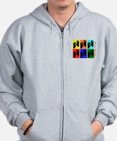 Massage Therapy Zip Hoodie