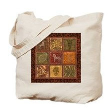 Funny African wall Tote Bag