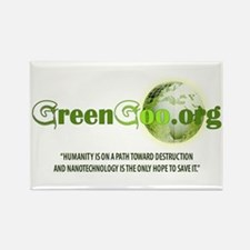 Greengoo.org Rectangle Magnet (10 pack)
