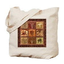 Cool African wall Tote Bag