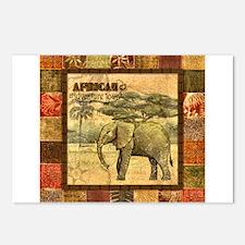 Cute Safari Postcards (Package of 8)