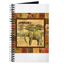 Unique African wall Journal