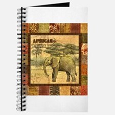 Cute Elephant with Journal