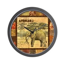 Cute African Wall Clock