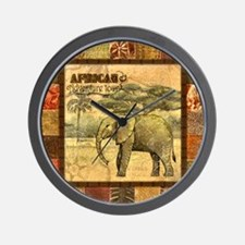 Unique Afrocentric Wall Clock