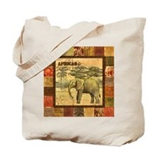 Unique African wall Tote Bag