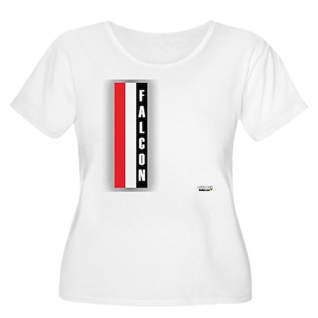 Falcon deluxe Women's Plus Size Scoop Neck T-Shirt