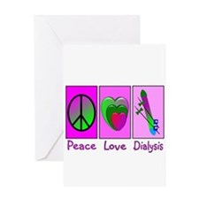 Funny Dialysis patient Greeting Card