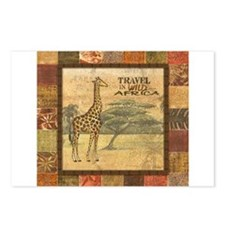 Unique Safari Postcards (Package of 8)