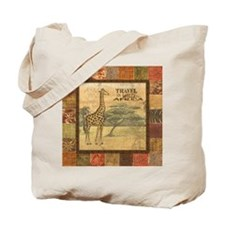 Cute African wall Tote Bag