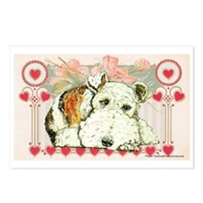 Wire Fox Terrier Love Postcards (Package of 8)
