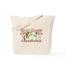 Wire Fox Terrier Love Tote Bag