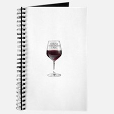 I Drink Therefore I Am Journal