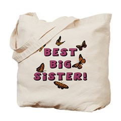 Best Big Sister! (2-Sided) Tote Bag