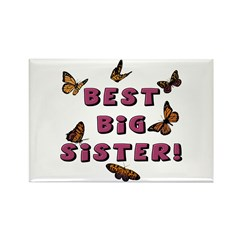 Best Big Sister! Rectangle Magnet