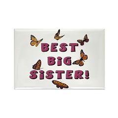 Best Big Sister! Rectangle Magnet
