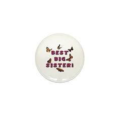 Best Big Sister! Mini Button (10 pack)