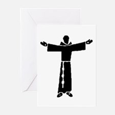 Cute St francis Greeting Cards (Pk of 20)