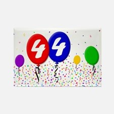 44th Birthday Rectangle Magnet (100 pack)