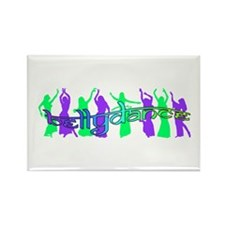 bellydancers Rectangle Magnet