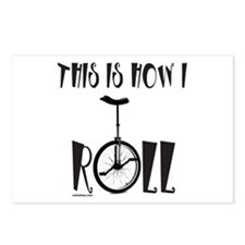 UNICYCLE/UNICYCLIST Postcards (Package of 8)