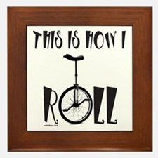UNICYCLE/UNICYCLIST Framed Tile