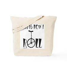 UNICYCLE/UNICYCLIST Tote Bag